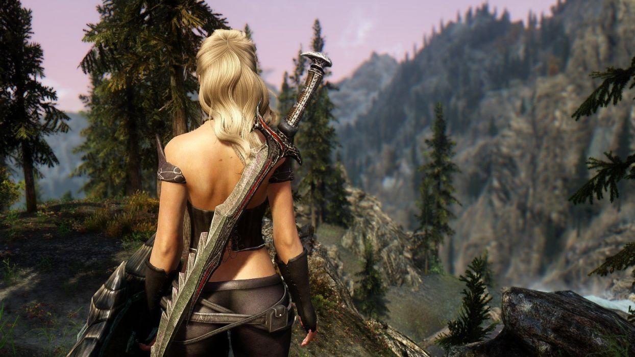 video juegos guerrera luchas accion wallpaper