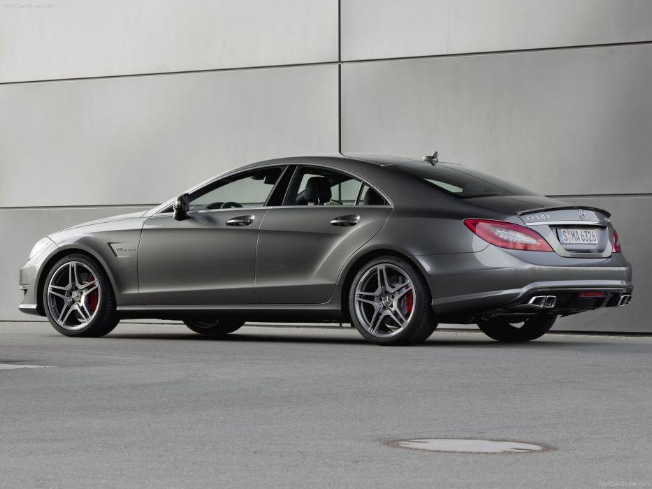 Mercedes-Benz CLS63 AMG 2012 W218 wallpaper