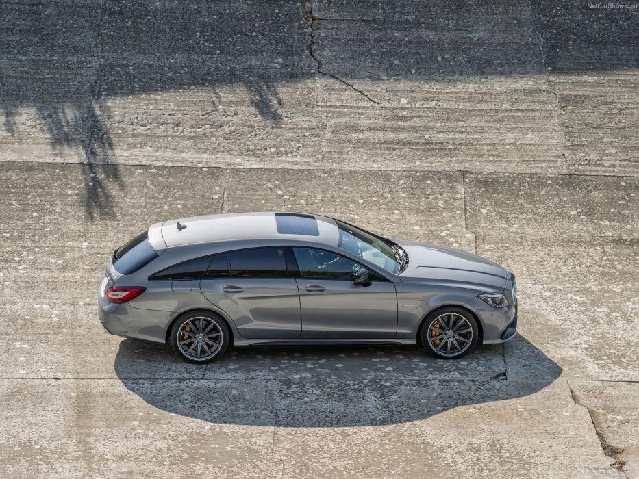 Mercedes-Benz CLS63 AMG Shooting Brake 2013 X218 wallpaper