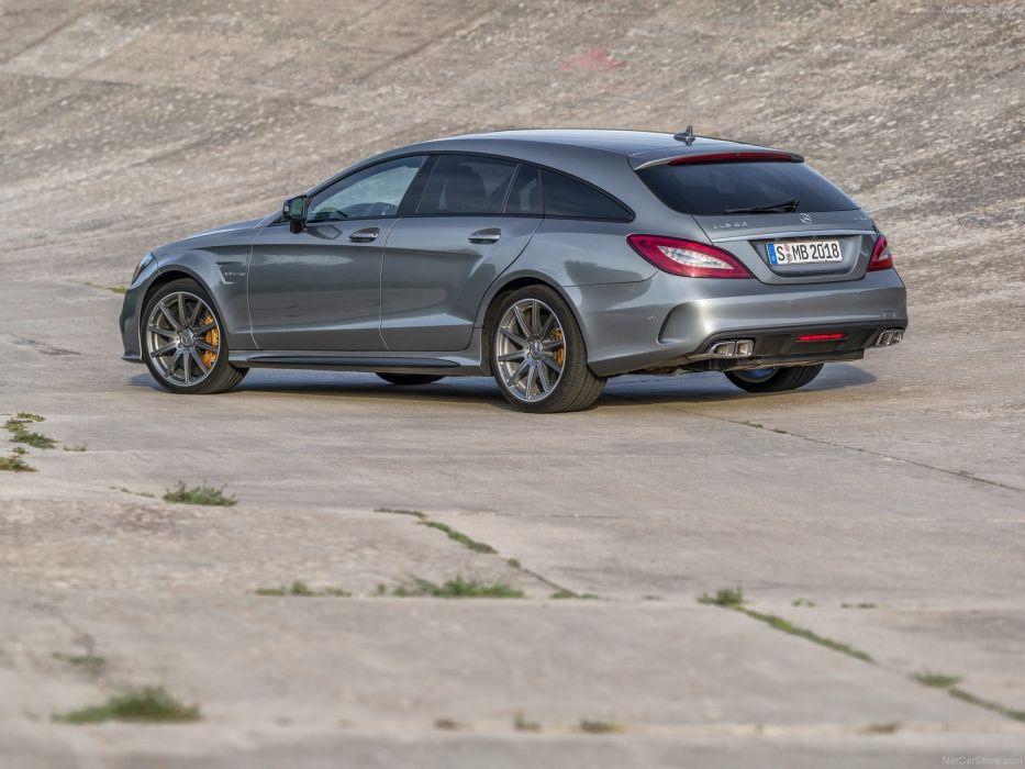 Mercedes-Benz CLS63 AMG Shooting Brake 2015 X218 wallpaper