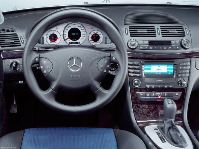 Mercedes-Benz E55 AMG 2003 W211 wallpaper
