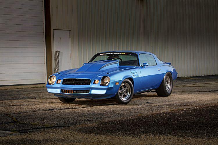 1979 Camaro Z28 cars blue wallpaper