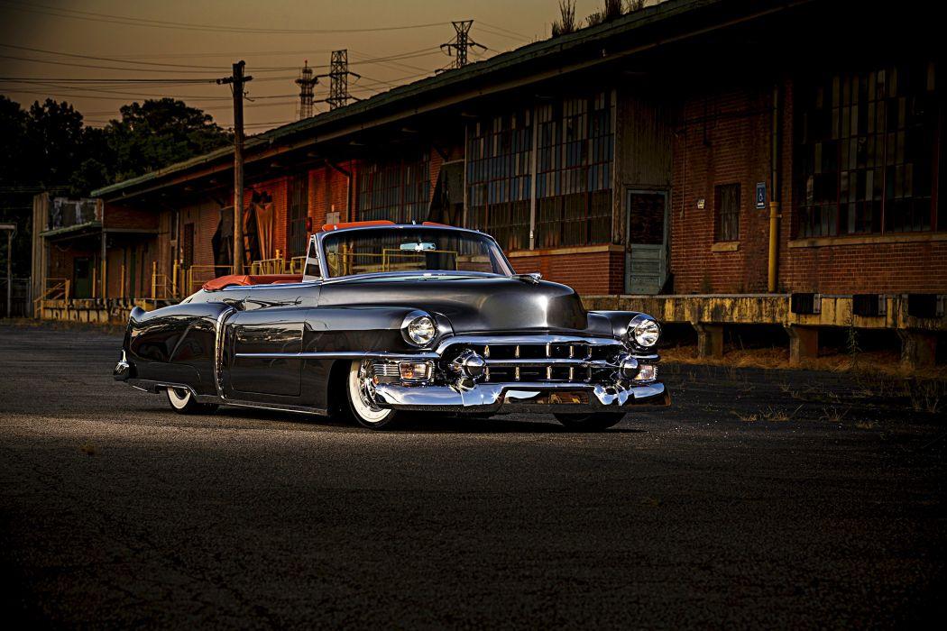 1953 Cadillac Convertible cars wallpaper