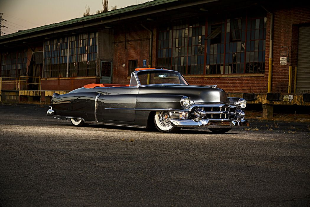 1953 Cadillac Convertible cars wallpaper