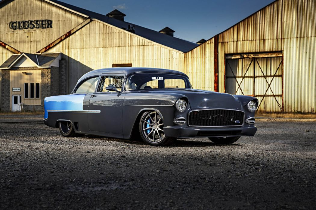 1955 Chevrolet 210 cars mofified wallpaper