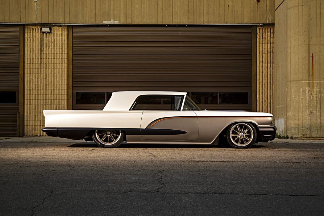 1958 T-Bird cars modified wallpaper