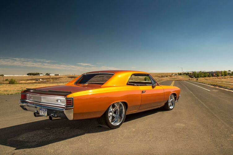 1967 chevy Chevelle modified wallpaper
