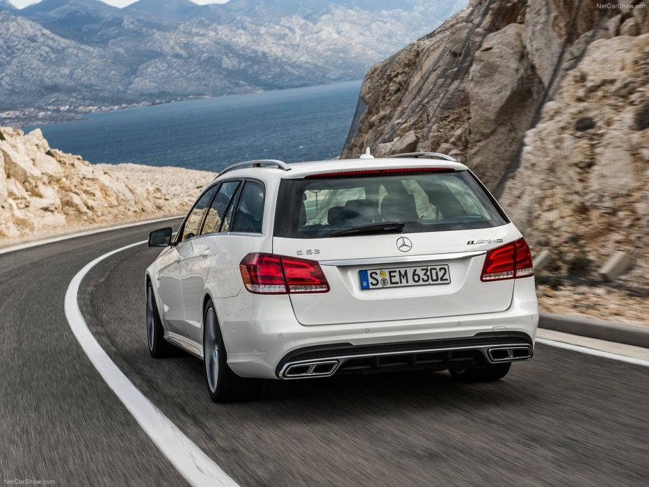 Mercedes-Benz E63 AMG Estate 2014 W212 wallpaper