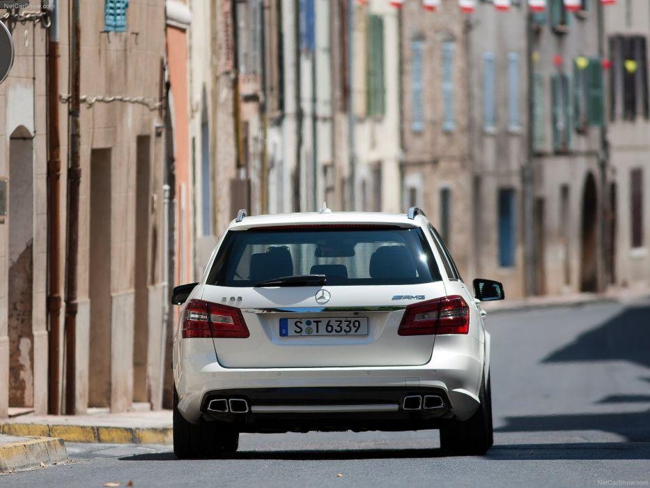Mercedes-Benz E63 AMG Estate 2012 W212 wallpaper