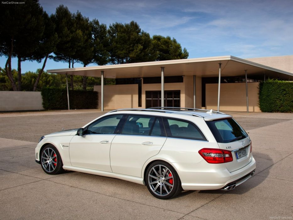Mercedes-Benz E63 AMG Estate 2012 W212 wallpaper