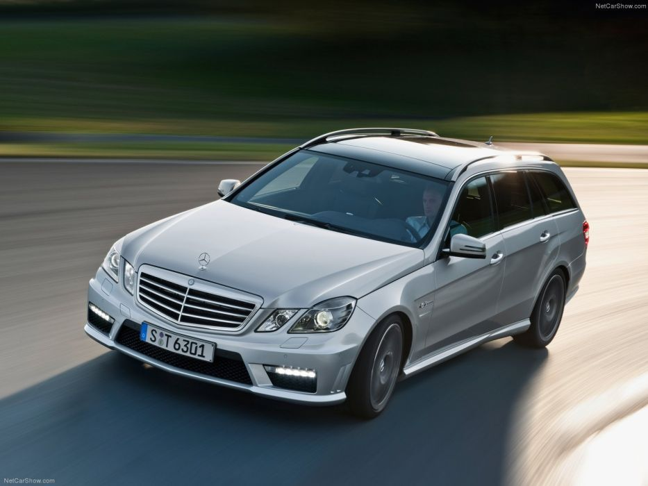 Mercedes-Benz E63 AMG Estate 2010 W212 wallpaper