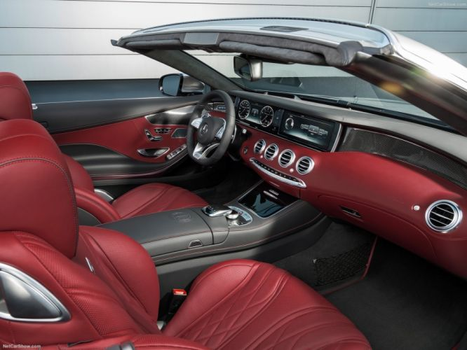 Mercedes-Benz S63 AMG 4Matic Cabriolet Edition 130 2016 C217 wallpaper