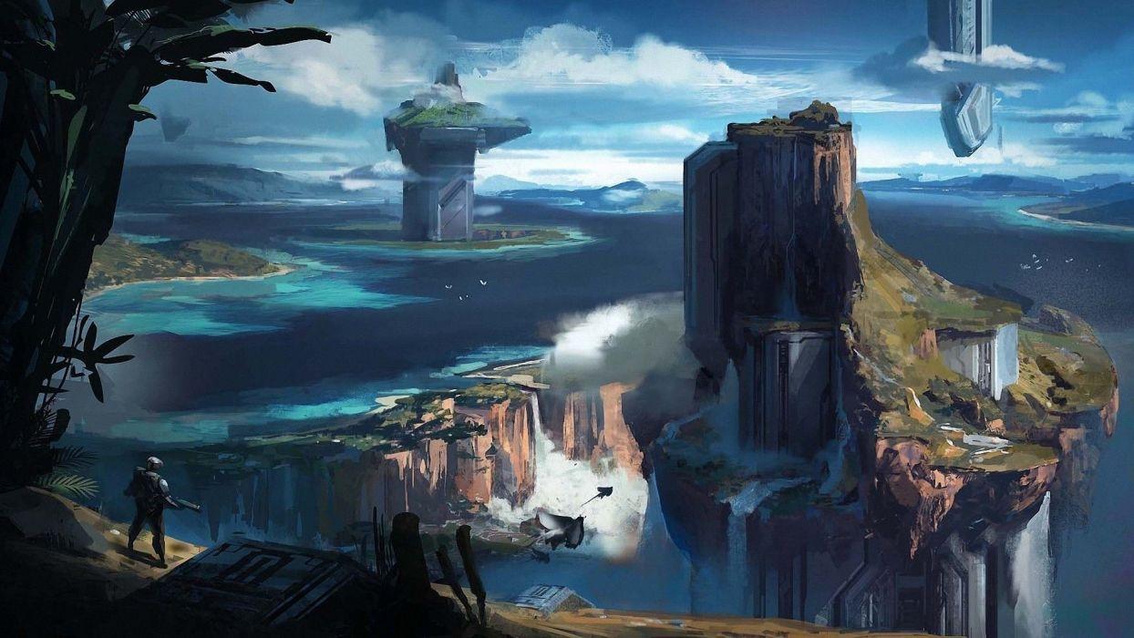 planeta alienigena ciencia ficcion wallpaper