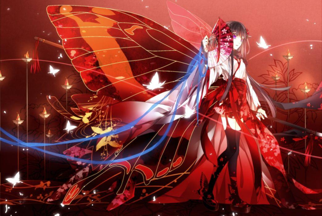 Butterfly - Inu X Boku SS wallpaper