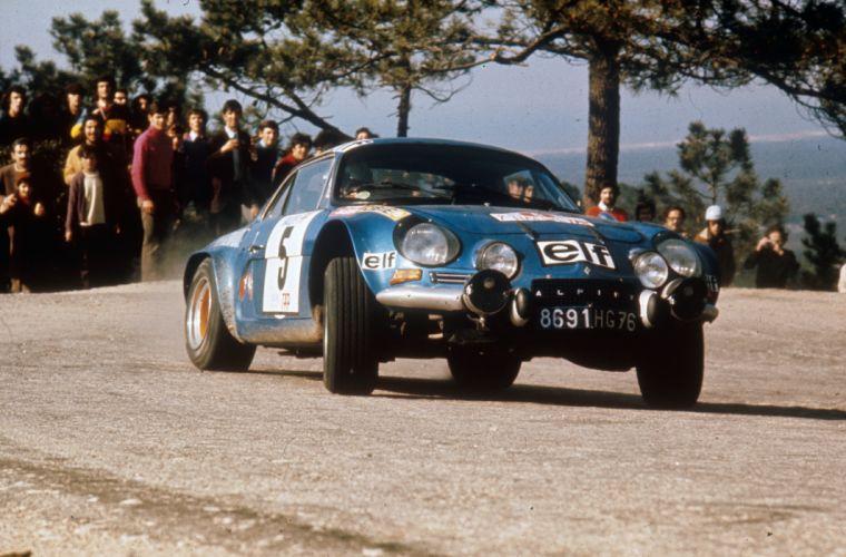 Renault Alpine A110 1962 Classic Rally Car wallpaper