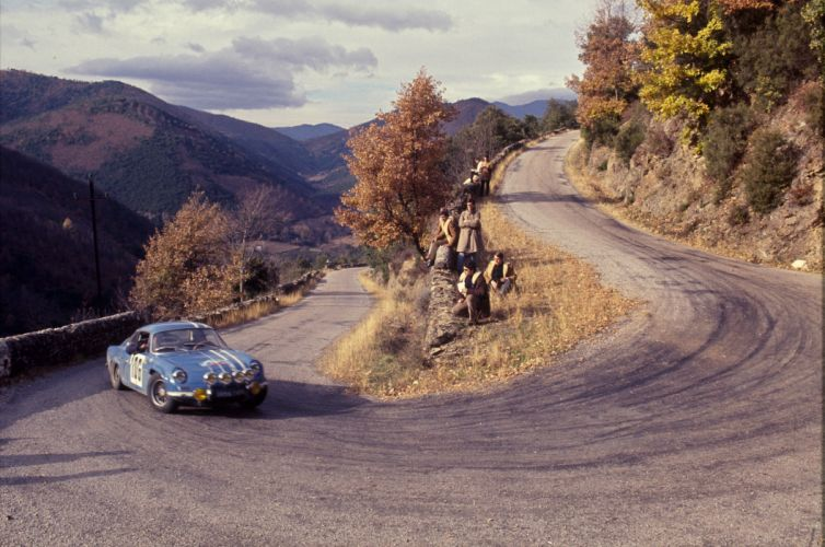 Renault Alpine A110 1962 Classic Rally Car wallpaper