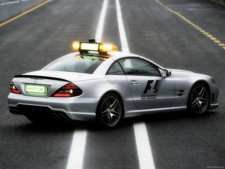 Mercedes-Benz SL63 AMG F1 Safety Car wallpaper