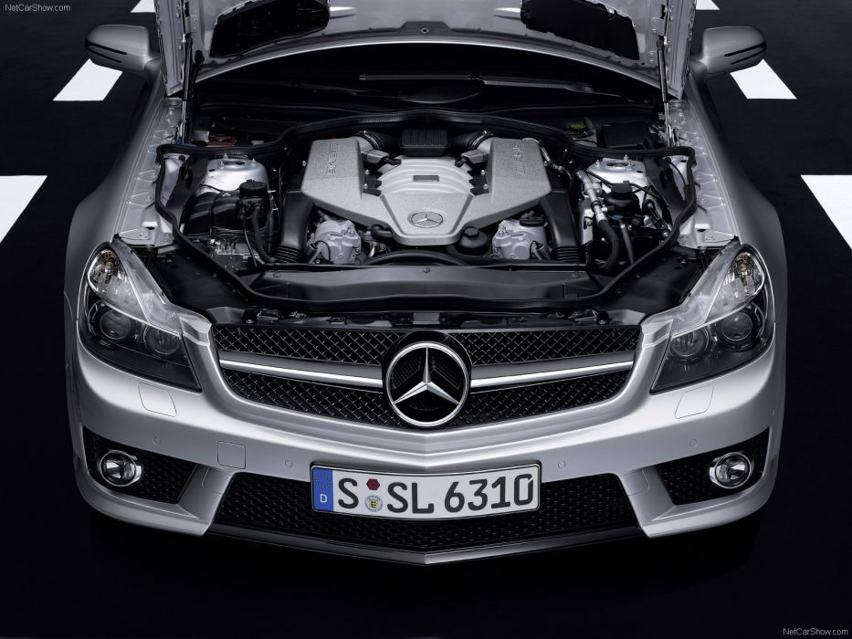 Mercedes-Benz SL63 AMG 2009 R230 wallpaper