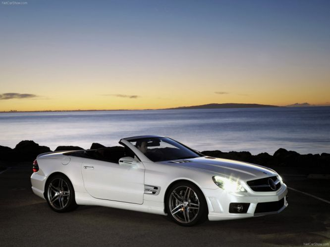 Mercedes-Benz SL65 AMG 2009 R230 wallpaper