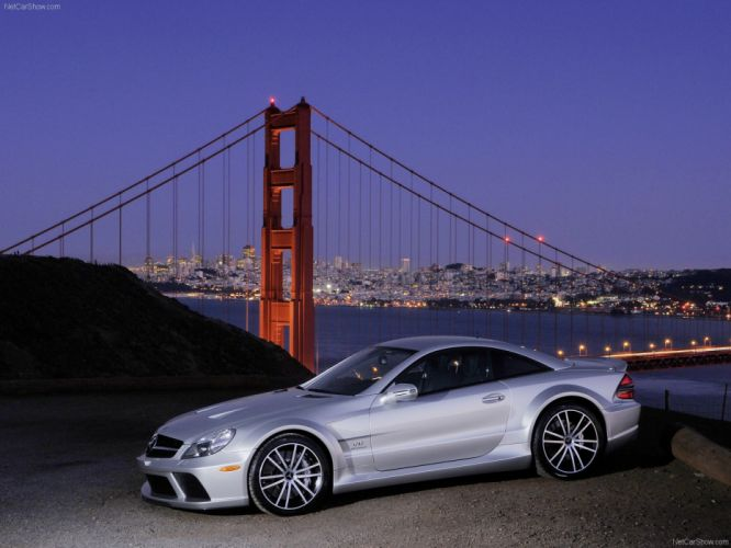 Mercedes-Benz SL65 AMG Black Series 2009 R230 wallpaper