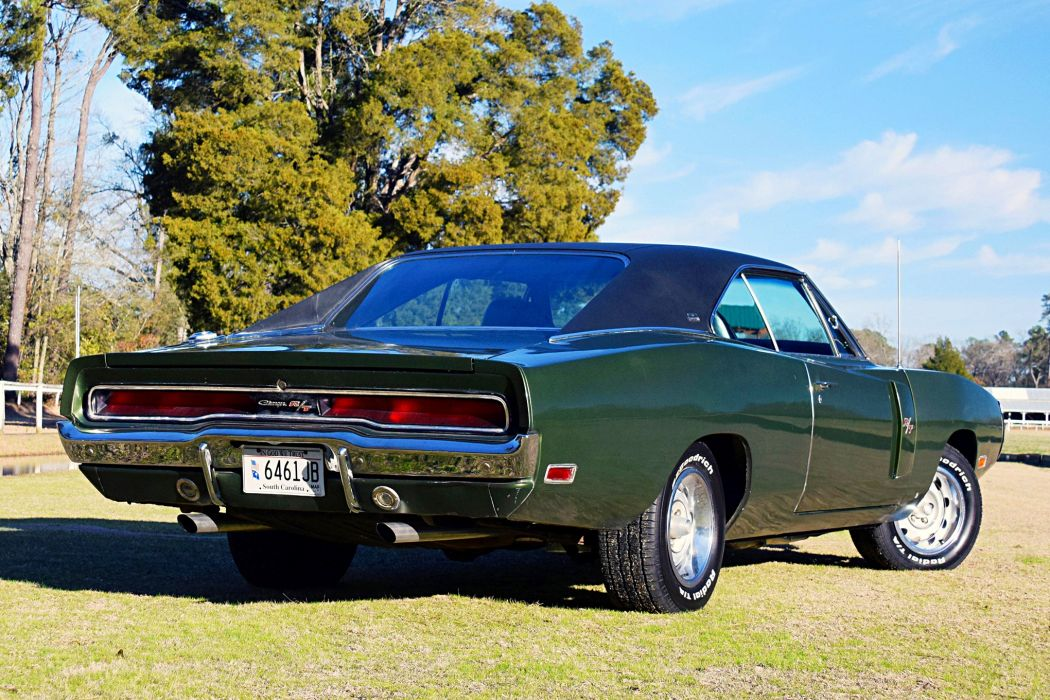 1970 dodge Charger cars green wallpaper