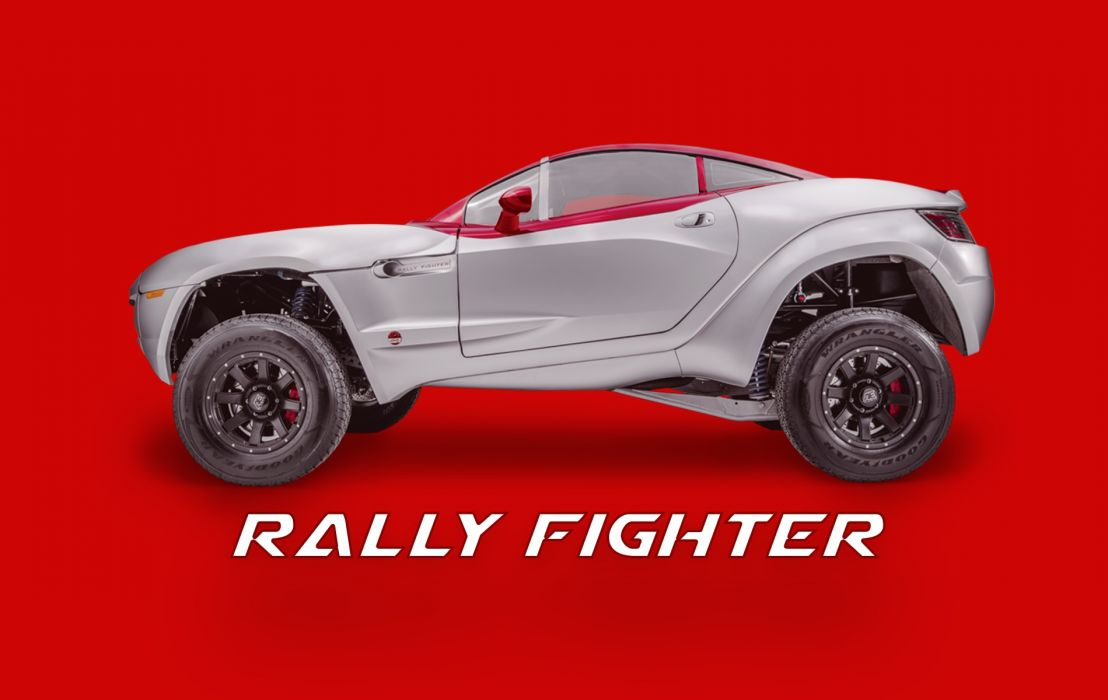 Rally Fighter 001 wallpaper