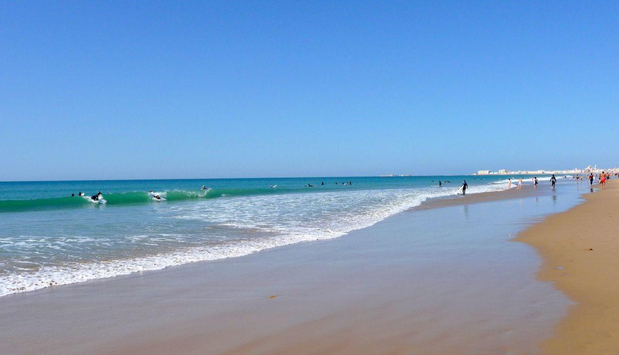 playas valencia espay wallpaper