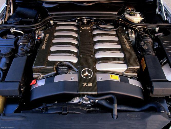 Mercedes-Benz SL73 AMG 1999 R129 wallpaper