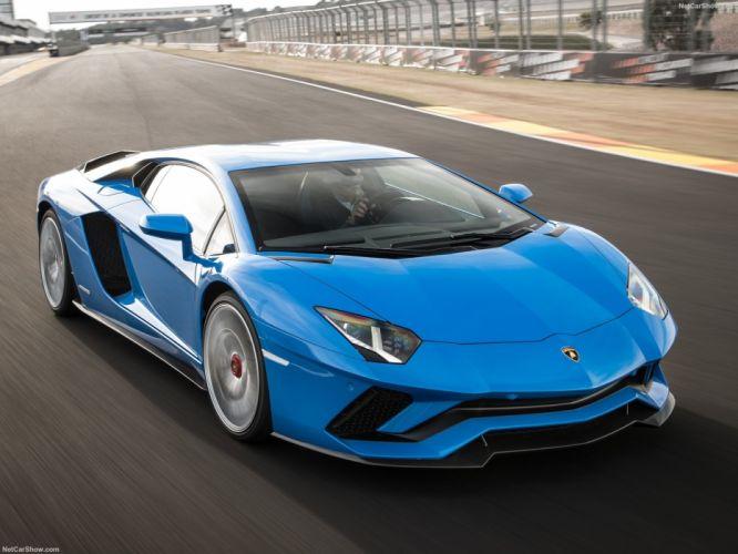 Lamborghini Aventador (S) cars supercars 2017 wallpaper