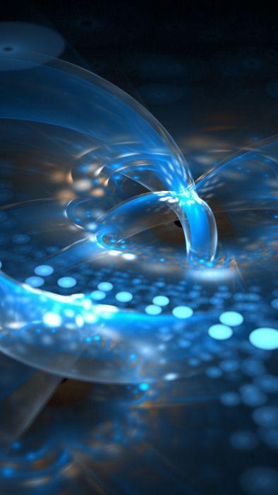 fractal plasma neon lights 47381 1440x2560 wallpaper