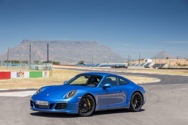Porsche 911 Carrera (4) GTS Coupe (991) cars 2017 wallpaper