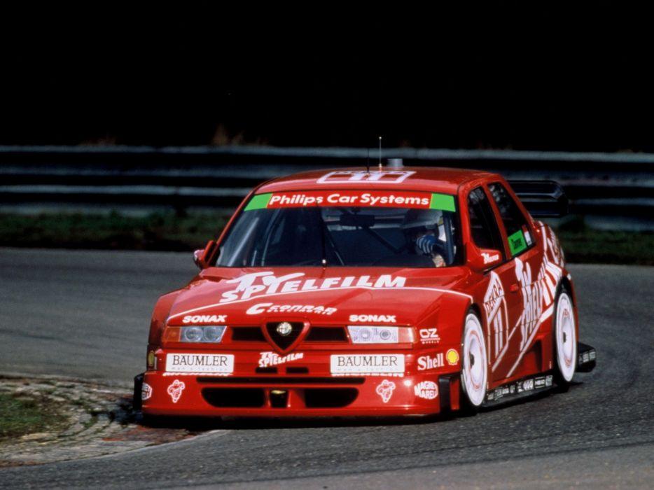 Alfa Romeo 155 2 5 V6 TI DTM wallpaper
