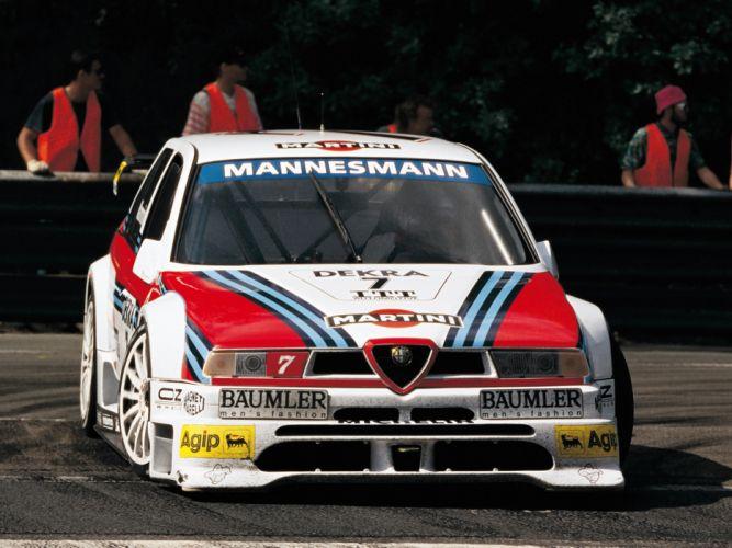 Alfa Romeo 155 2 5 V6 TI ITC wallpaper