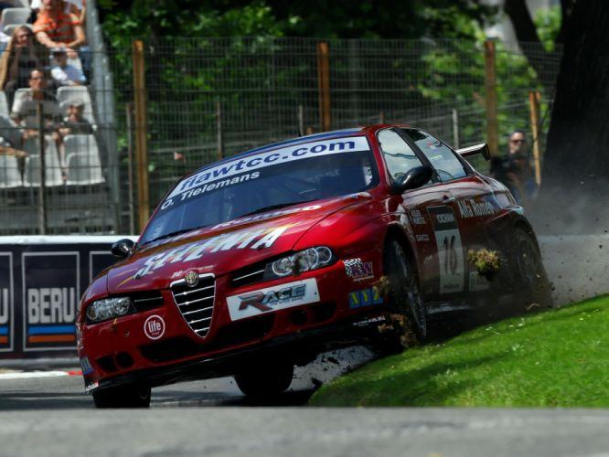 Alfa Romeo 156 Super BTCC wallpaper