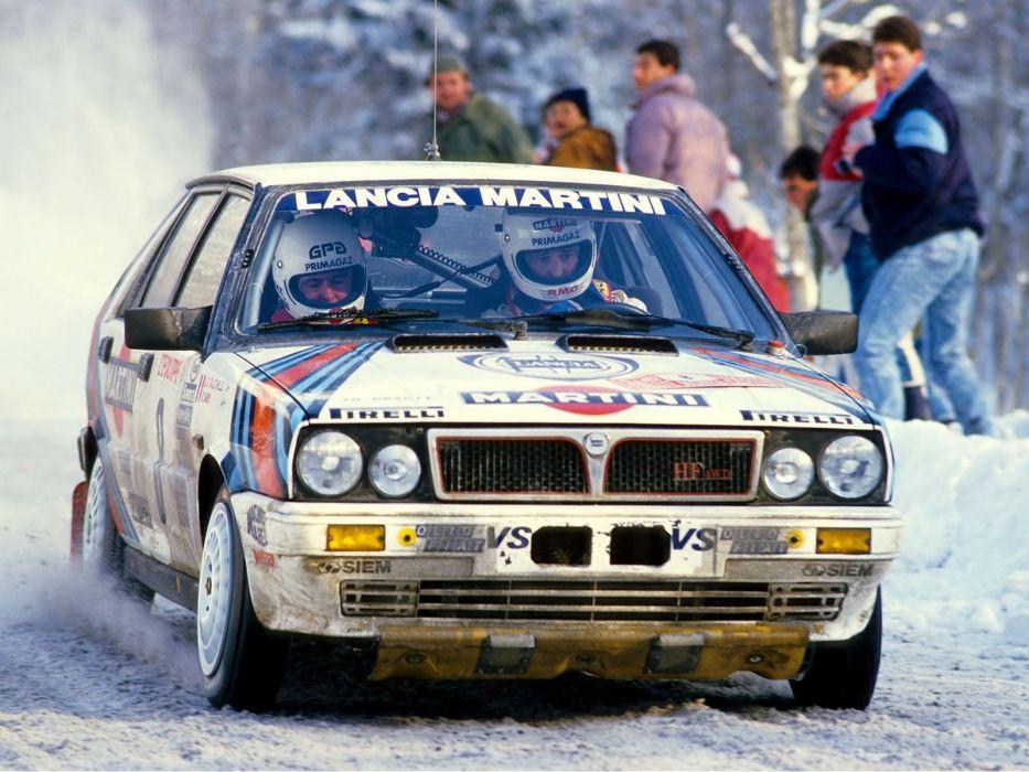 Lancia Delta HF Rally Car wallpaper