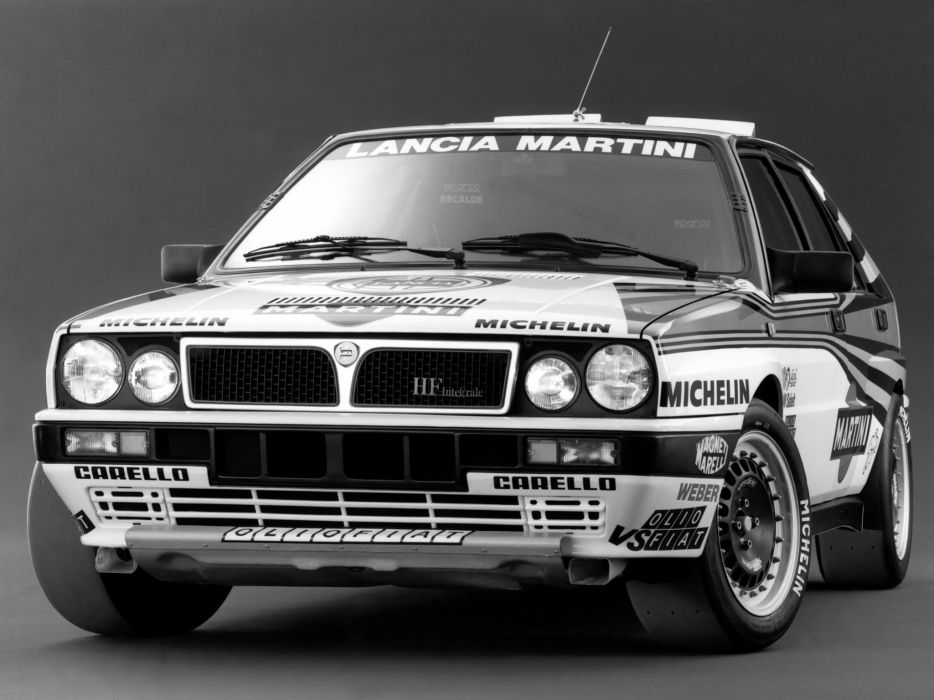 Lancia Delta HF Rally Car wallpaper