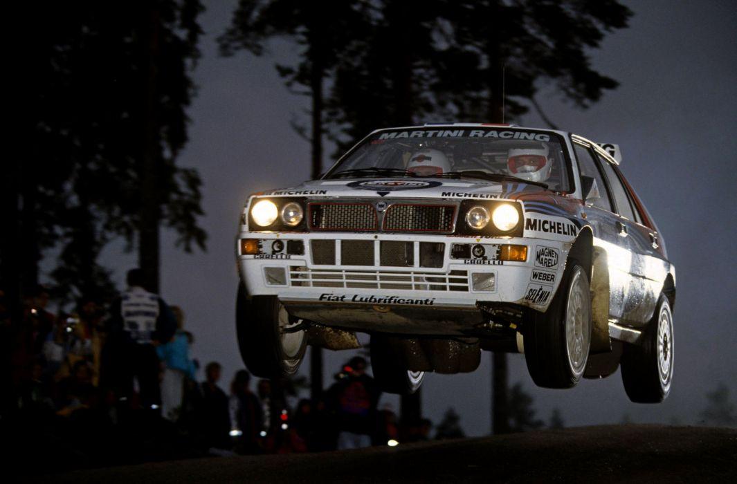Lancia Delta HF Evoluzione Rally Car wallpaper