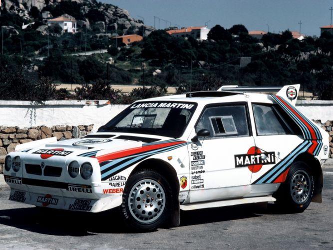 Lancia Delta S4 Rally Car wallpaper