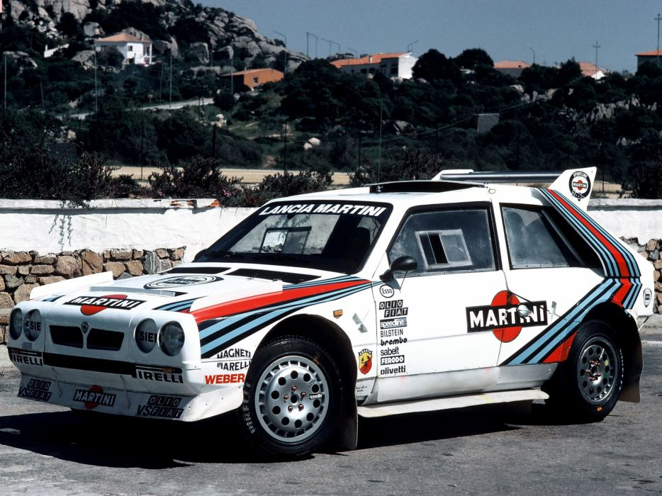Lancia Delta S4 Rally Car wallpaper