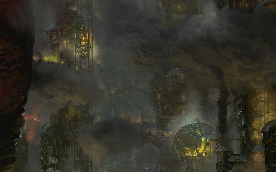 Zaun - League of legends wallpaper