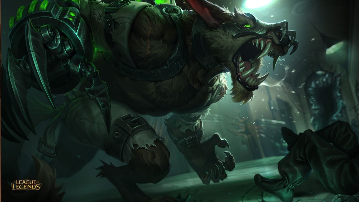 Feral Warwick Rework League Of Legends Wallpaper 1920x1080
