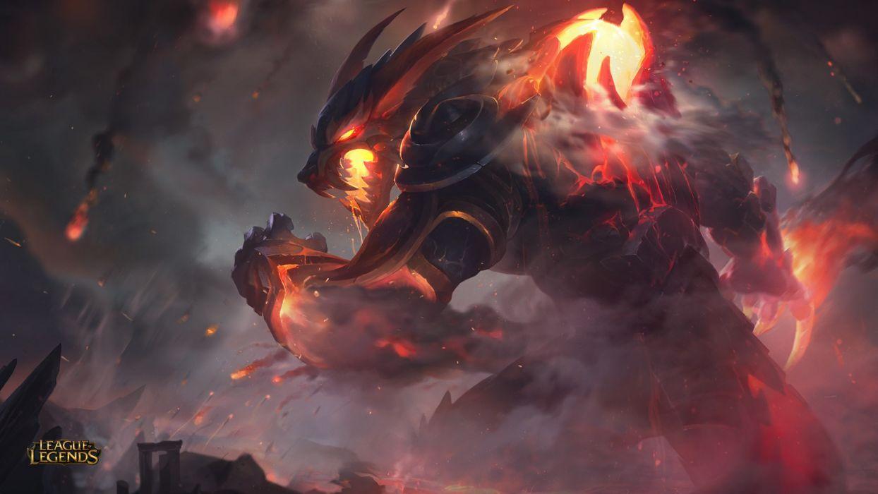 Firefang Warwick Rework - League of legends wallpaper