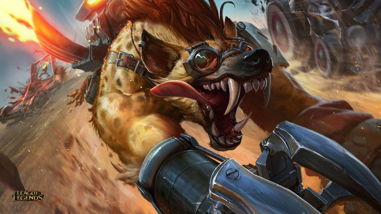 Hyena Wawrick Rework - League of legends wallpaper