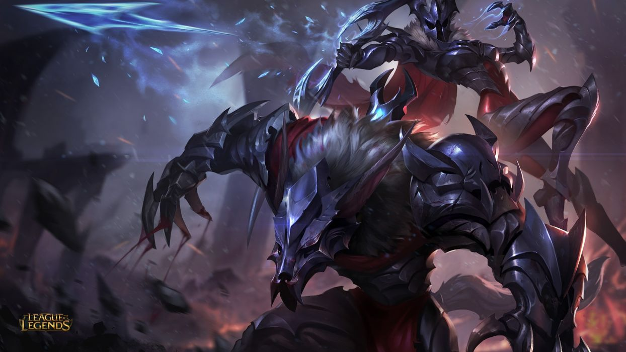 Marauder Warwick Rework League Of Legends Wallpaper 1920x1080