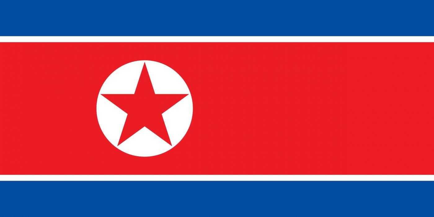 bandera corea norte asia wallpaper