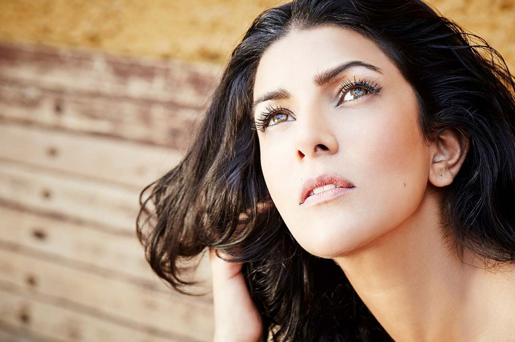nimrat kaur bollywood actress model girl beautiful brunette pretty cute beauty sexy hot pose face eyes hair lips smile figure indian wallpaper