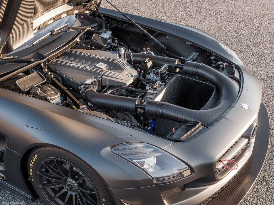Mercedes-Benz SLS AMG GT3 45th Anniversary 2012 wallpaper