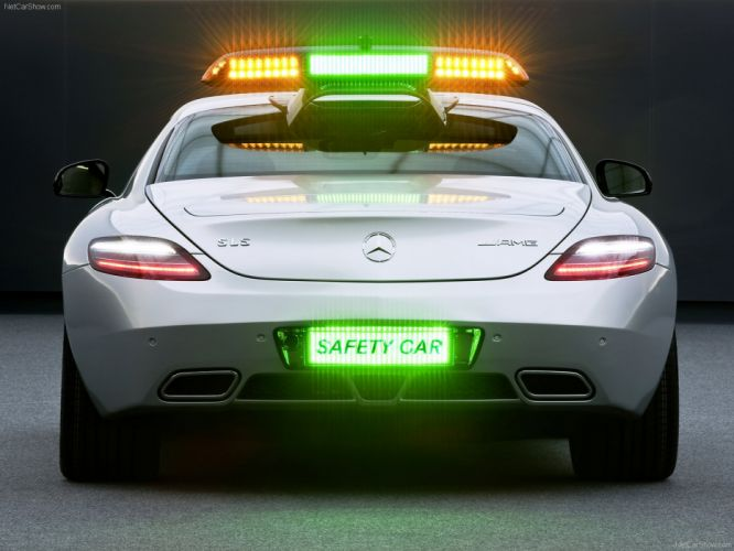 Mercedes-Benz SLS AMG F1 Safety Car wallpaper