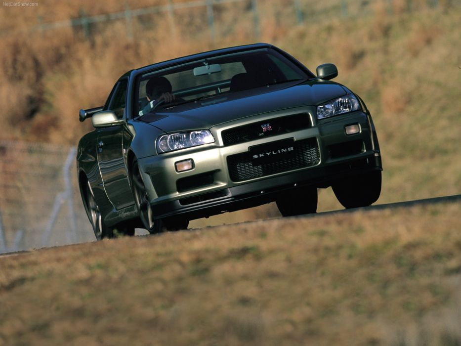 Nissan Skyline GT R Vspec II R34 wallpaper