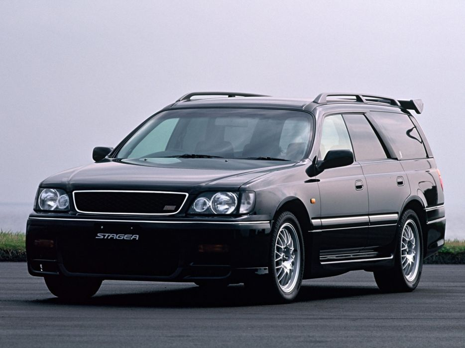 Nissan Stagea 260RS JDM Station Wagon wallpaper